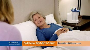 The PureWick TV Spot, 'Wake Up Dry: Covered By Medicare'