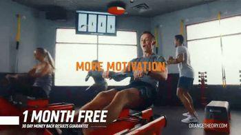 Orangetheory Fitness TV Spot, 'Turn It Up: One Month Free' - Thumbnail 4
