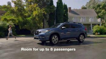 2021 Subaru Ascent TV Spot, 'Features' [T2] - Thumbnail 2