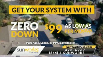 Sunworks TV Spot, 'Peak Summer Electric Bills' - Thumbnail 8