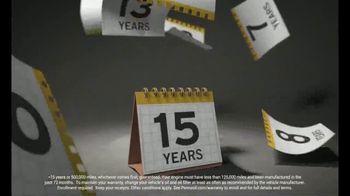 Pennzoil Platinum TV Spot, 'Facts & Figures' - Thumbnail 4