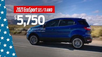 Ford Memorial Day Sellathon TV Spot, 'Trade-Assist: EcoSport' [T2] - Thumbnail 2