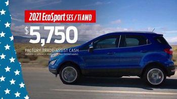 Ford Memorial Day Sellathon TV Spot, 'Trade-Assist: EcoSport' [T2] - Thumbnail 3