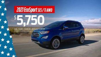 Ford Memorial Day Sellathon TV Spot, 'Trade-Assist: EcoSport' [T2] - Thumbnail 4