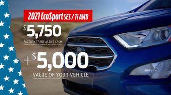 Ford Memorial Day Sellathon TV Spot, 'Trade-Assist: EcoSport' [T2] - Thumbnail 5