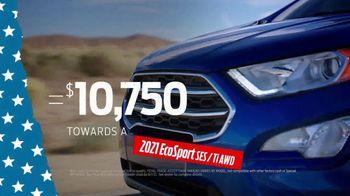 Ford Memorial Day Sellathon TV Spot, 'Trade-Assist: EcoSport' [T2] - Thumbnail 6
