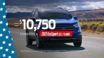 Ford Memorial Day Sellathon TV Spot, 'Trade-Assist: EcoSport' [T2] - Thumbnail 7