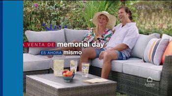 Ashley HomeStore Venta de Memorial Day TV Spot, '20% de descuento' [Spanish] - Thumbnail 2