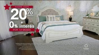 Ashley HomeStore Venta de Memorial Day TV Spot, '20% de descuento' [Spanish] - Thumbnail 3