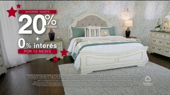 Ashley HomeStore Venta de Memorial Day TV Spot, '20% de descuento' [Spanish] - Thumbnail 4