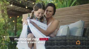 Ashley HomeStore Memorial Day Sale TV Spot, '10% de descuento adicional' [Spanish]