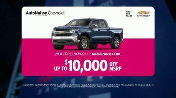 AutoNation Fast Start Sales Event TV Spot, '2021 Chevrolet Silverado: $10,000 Off' - Thumbnail 4