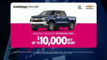 AutoNation Fast Start Sales Event TV Spot, '2021 Chevrolet Silverado: $10,000 Off'