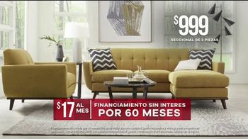 Rooms to Go Venta de Memorial Day TV Spot, 'Seccionales en oferta' [Spanish] - Thumbnail 5