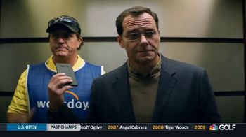 Workday TV Spot, 'Business Caddy' Featuring Andy Buckley and Phil Mickelson - Thumbnail 6