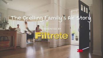 Filtrete Smart Air Purifier TV Spot, 'The Crelling Family's Air Story' - Thumbnail 2