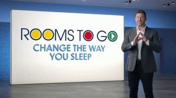 Rooms to Go TV Spot, 'Change the Way You Sleep: Free Adjustable Base' Featuring Jesse Palmer