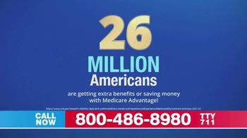 Medicare Advantage Hotline TV Spot, 'Medicare by the Numbers: Extra Benefits' - Thumbnail 1