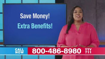 Medicare Advantage Hotline TV Spot, 'Medicare by the Numbers: Extra Benefits' - Thumbnail 6