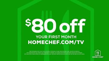 Home Chef TV Spot, 'Simply Delicious: $80 Off' - Thumbnail 10