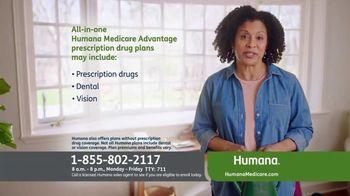 Humana Medicare Advantage Plan TV Spot, 'Prescription Drug Plans' - Thumbnail 4