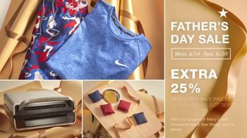 Macy's Father's Day Sale TV Spot, 'Get Dad the Perfect Gift: 25% off Favorite Designers' - Thumbnail 5