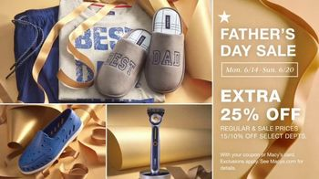 Macy's Father's Day Sale TV Spot, 'Get Dad the Perfect Gift: 25% off Favorite Designers' - Thumbnail 6