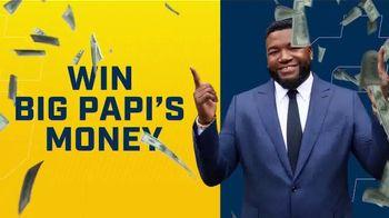 FOX Bet Super 6 TV Spot, 'Win Big Papi's Money' Featuring David Ortiz