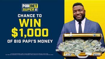FOX Bet Super 6 TV Spot, 'Win Big Papi's Money' Featuring David Ortiz - Thumbnail 10
