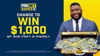 FOX Bet Super 6 TV Spot, 'Win Big Papi's Money' Featuring David Ortiz - Thumbnail 9