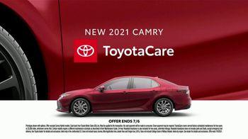 2021 Toyota Camry TV Spot, 'Dear Road Rivals: Camry' [T2] - Thumbnail 9