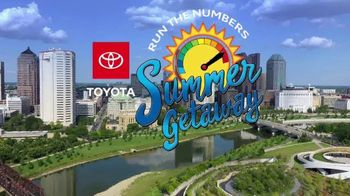 Toyota Run the Numbers Summer Getaway TV Spot, 'Time to Get Away: Hybrids' [T2] - Thumbnail 2