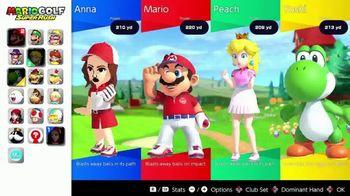 Nintendo Switch TV Spot, 'Mario Golf: Super Rush: Adventure With Friends or Frenemies'