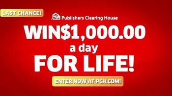 Publishers Clearing House TV Spot, 'Last Chance: $1,000 a Day' Featuring Brad Paisley - Thumbnail 10