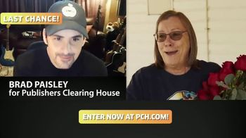 Publishers Clearing House TV Spot, 'Last Chance: $1,000 a Day' Featuring Brad Paisley - Thumbnail 3