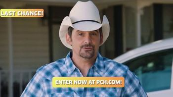 Publishers Clearing House TV Spot, 'Last Chance: $1,000 a Day' Featuring Brad Paisley - Thumbnail 4