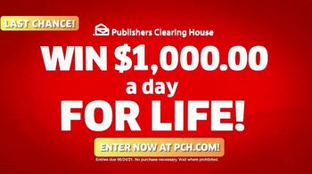 Publishers Clearing House TV Spot, 'Last Chance: $1,000 a Day' Featuring Brad Paisley - Thumbnail 6