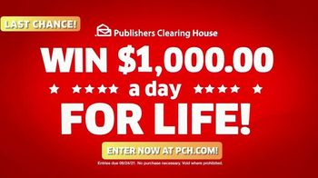 Publishers Clearing House TV Spot, 'Last Chance: $1,000 a Day' Featuring Brad Paisley - Thumbnail 7