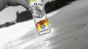 White Claw Hard Seltzer Iced Tea TV Spot, 'Surfing' Song by LUCIA - Thumbnail 3