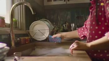 Scotch Brite Scrub Dots TV Spot, 'Power Through'