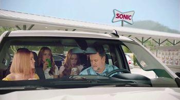 Sonic Drive-In Red Bull Summer Edition Dragon Fruit Slush TV Spot, 'Clock Out' - Thumbnail 2