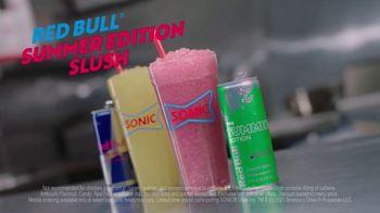 Sonic Drive-In Red Bull Summer Edition Dragon Fruit Slush TV Spot, 'Clock Out' - Thumbnail 8