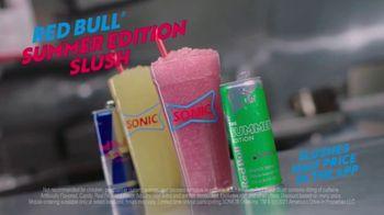 Sonic Drive-In Red Bull Summer Edition Dragon Fruit Slush TV Spot, 'Clock Out' - Thumbnail 9