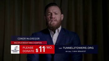 Stephen Siller Tunnel to Towers Foundation TV Spot, 'Brian Johnston' Featuring Conor McGregor - Thumbnail 9