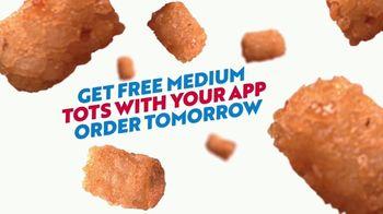 Sonic Drive-In TV Spot, 'Golden Buzzer: Free Medium Tots'