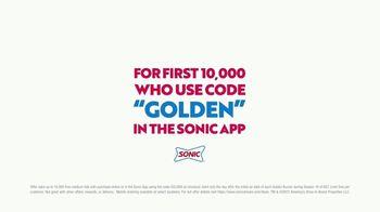 Sonic Drive-In TV Spot, 'Golden Buzzer: Free Medium Tots' - Thumbnail 5