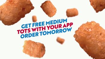 Sonic Drive-In TV Spot, 'Golden Buzzer: Free Medium Tots' - Thumbnail 4