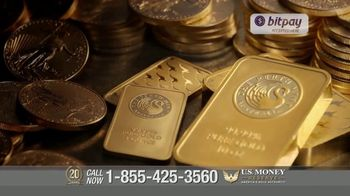 U.S. Money Reserve TV Spot, 'Cryptocurrency Gains: The Long Term Value of Gold'