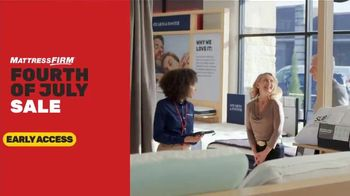 Mattress Firm 4th of July Sale TV Spot, 'Early Access: Save $500'