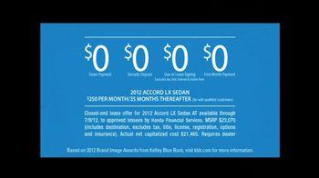 2012 Honda Accord LX Sedan TV Spot, 'Semantics' - Thumbnail 4